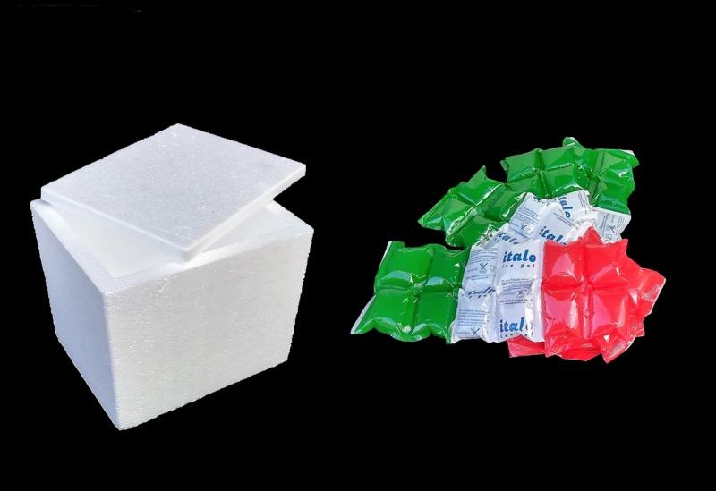 Kit per spedizione di prodotti freschi