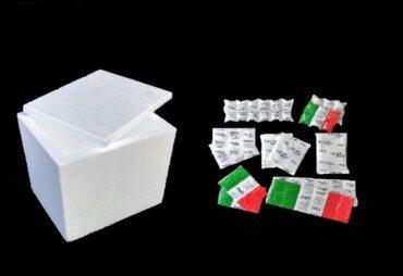Ghiaccio sintetico riutilizzabile per spedizioni ...