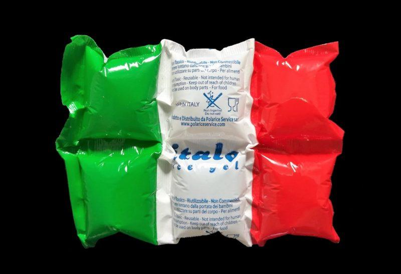 Ghiaccio sintetico Italo in mattonella da 6 cellette